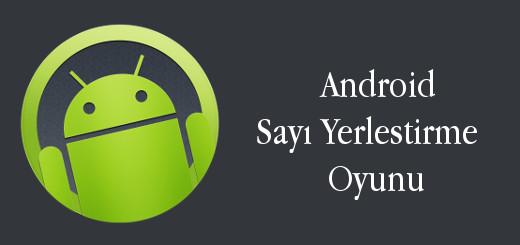 android-evreni-android-sayı-yerleştirme-oyunu